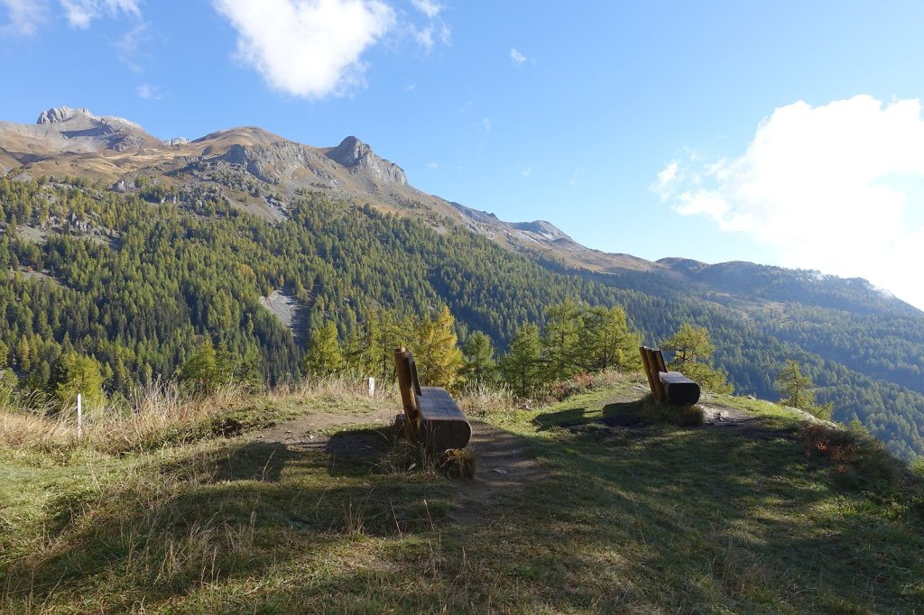 Bisse du Tsittoret, Petit Mont Bonvin (10.10.2015)