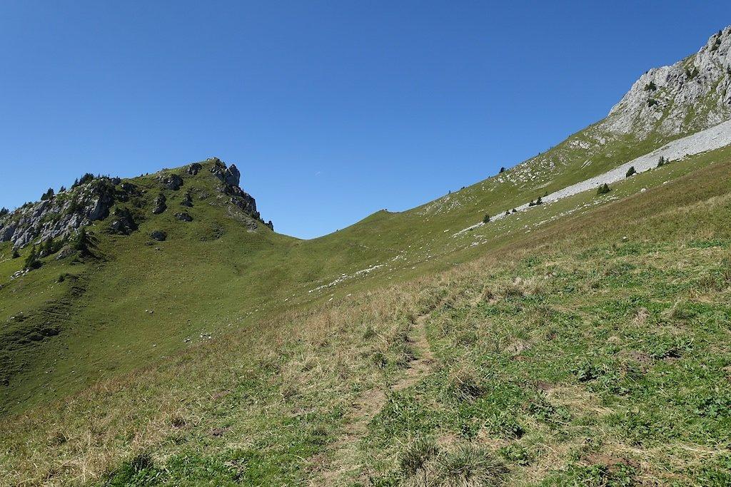 Salavène, Lac d'Arvouin, Sevan, Col d'Outanne, Col de Sevan, Torgon (22.08.2017)