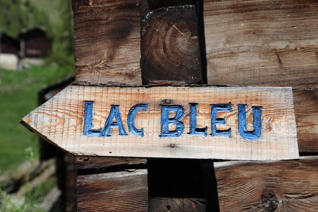 La Gouille, Lac Bleu, La Sage (29.05.2020)