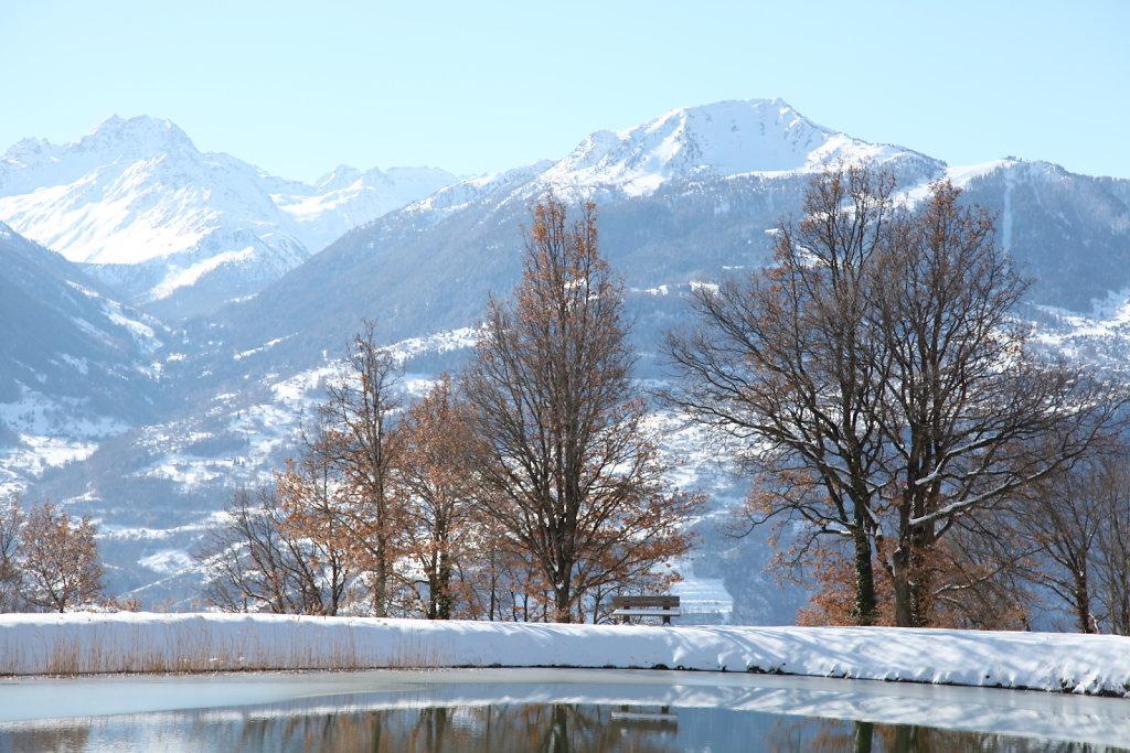 Lac du Mouchy, Savièse (28.02.2020)