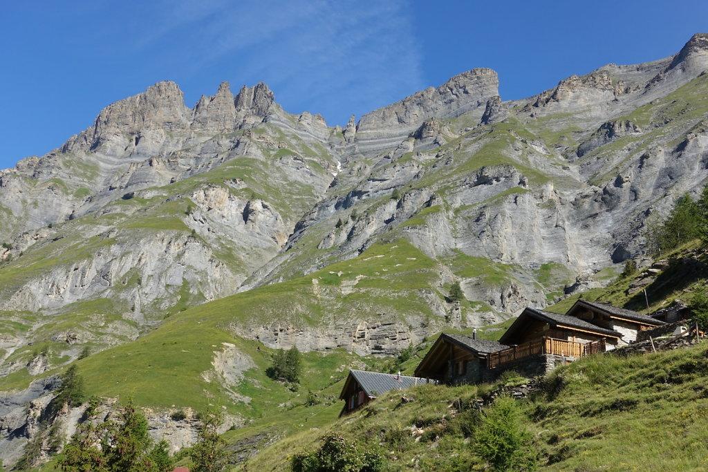 Loèche-les-Bains, Gorges du Dala, Clabinualp, Flüekapelle, Mejingalp, Loèche-les-Bains (19.07.2020)