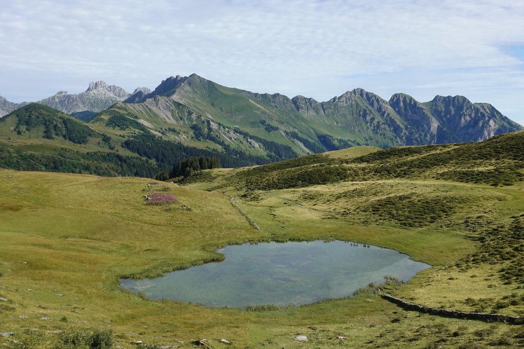 Lac Retaud, La Palette (25.08.2020)