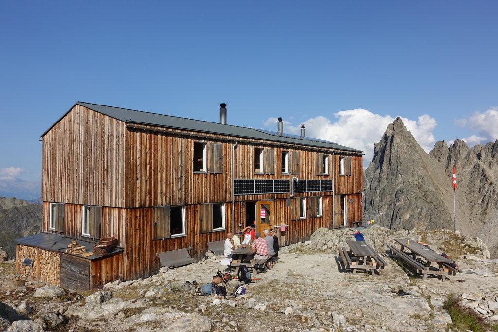 Cabane de Saleinaz (13-14.09.2020)