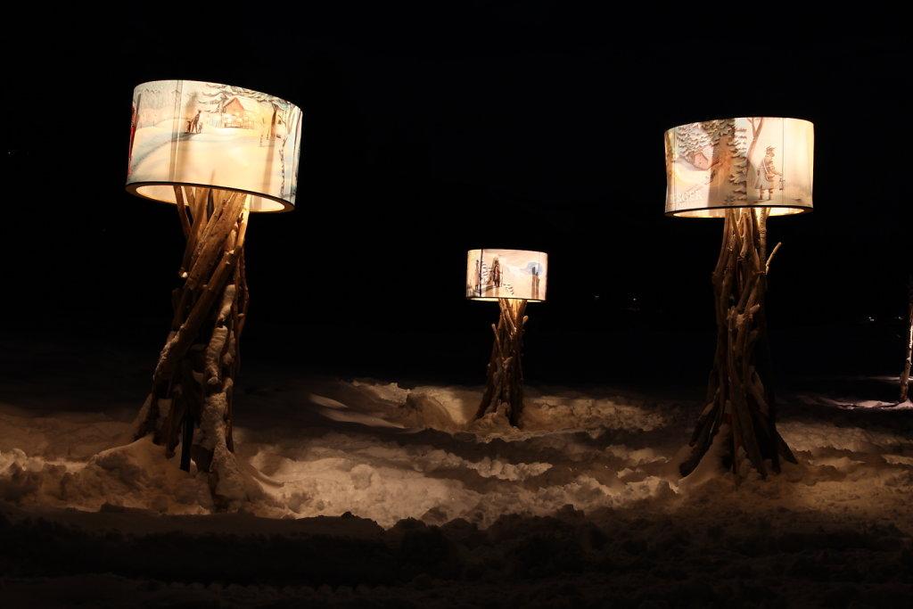 Chemin des Lanternes, Montana (26.01.2021)